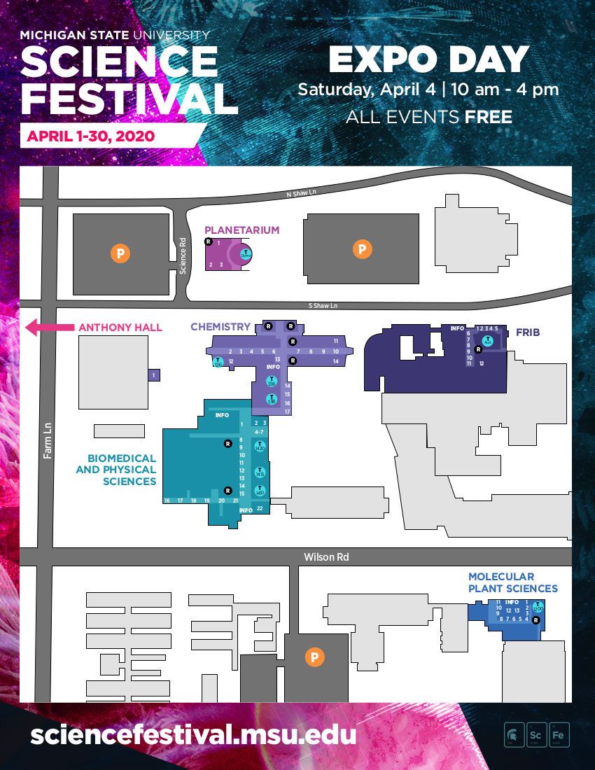 Page 1 of expo map