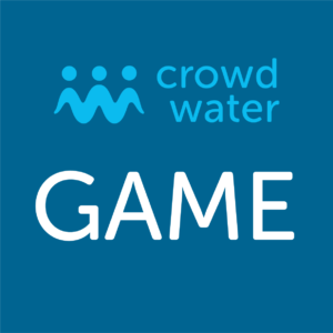 Crowd water logo
