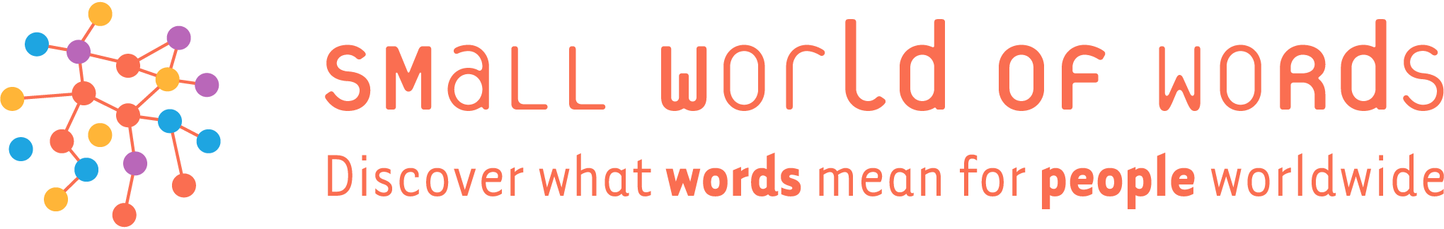 Small world of words logo