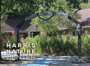 Picture of the Harris Nature Center entrance.