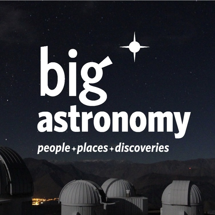 MSU Observatory with the words Big Astronomy People Places Discoveries.