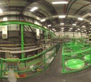 Picture of inside the National Superconducting Cyclotron Laboratory.